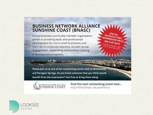 Business Network Alliance flyer