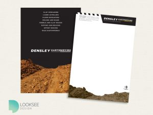 Densley Earthmoving Letterhead
