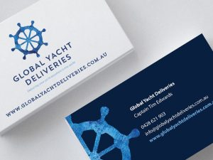 Global Yacht Deliveries Business Cards