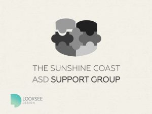 Sunshine Coast ASD Support Group black and white