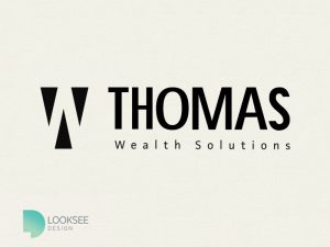 Thomas Wealth Solutions black and white logo