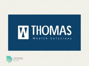 Thomas Wealth Solutions logo variation