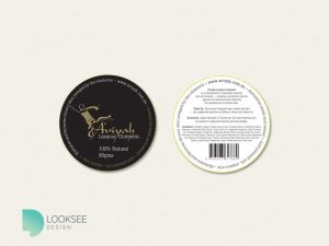 Aviyah Lazarus Ointment Label