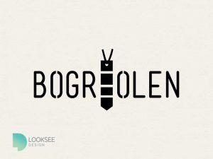 Bogreolen logo black and white