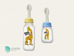 Bubble Bottle label