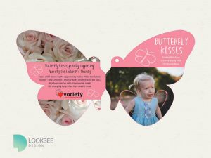 Butterfly Kisses Label