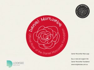 Daniel Morcombe Foundation Rose logo