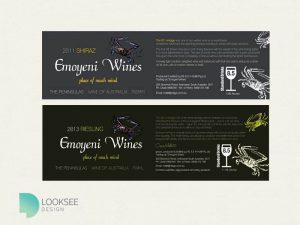 Emoyeni Wine Label