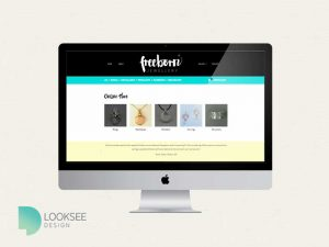 Freeborn website category page