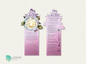 Guardian Angel Rose Label