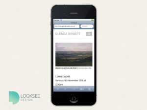 Glenda Rowett mobile site