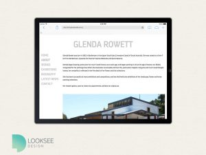 Glenda Rowett tablet site