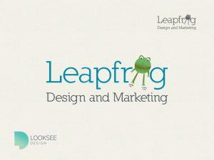 Leapfrog Design and Marketing logo