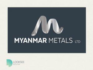 Myanmar Metals logo variation