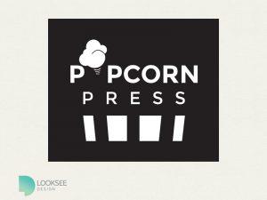 Popcorn Press logo variation