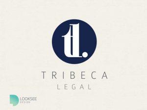 Tribeca logo blue