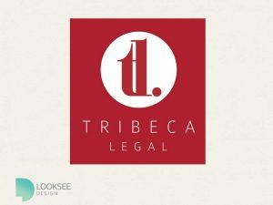 Tribeca Logo red