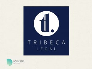 Tribeca Logo blue variation
