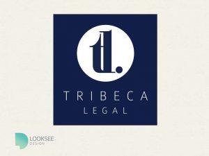 Tribeca Logo blue variation