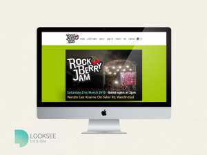 Rock Berry Jam website