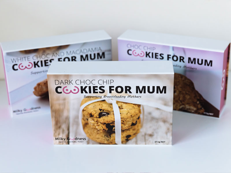 Milky Goodness – Cookies for Mum