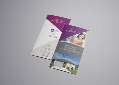 The Cocoon Group – Trifold Brochures